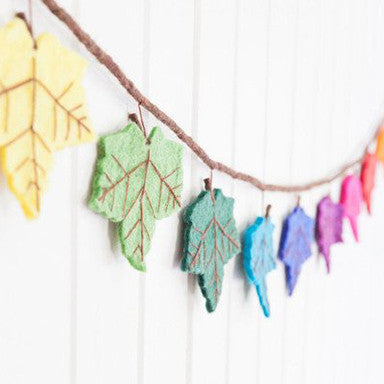 Flame Tree Rainbow Garland