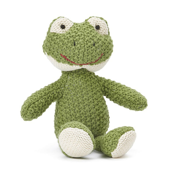 Finny the Frog Baby Rattle