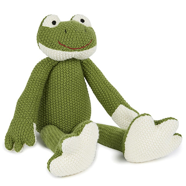 Finny the Frog Soft Toy