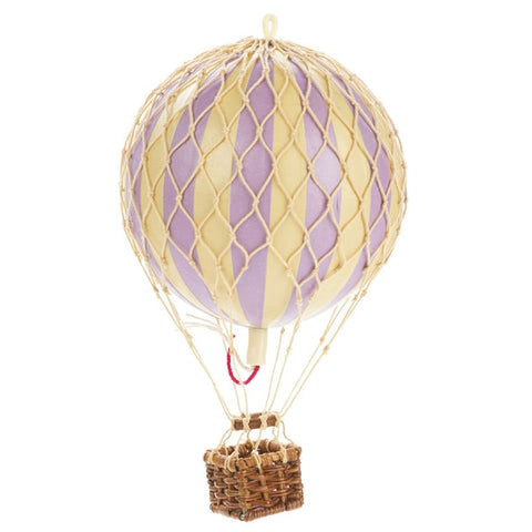 Travels Light Hot Air Balloon Lavender available at The Hera Collective