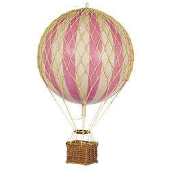 Travels Light Hot Air Balloon Pink available at The Hera Collective