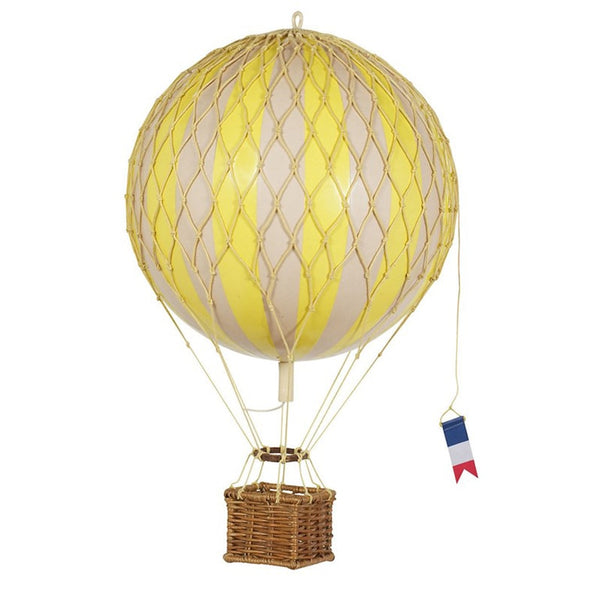 Travels Light Hot Air Balloon Yellow available at The Hera Collective