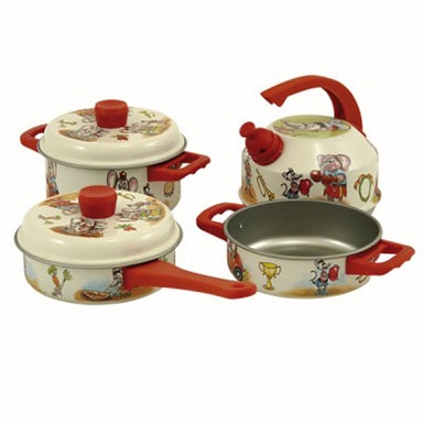 Jumbo Mini Saucepan Set