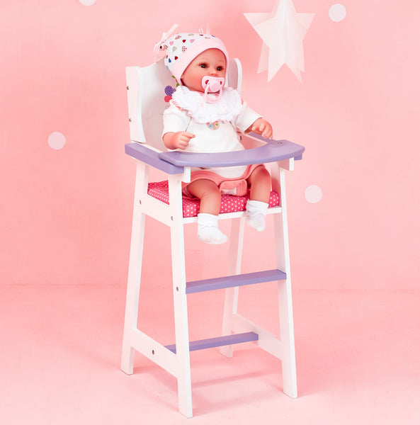 Little Princess 45cm Doll Furniture - Baby High Chair