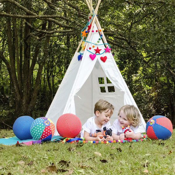 5ft Teepee used outdoors available at The Hera Collective