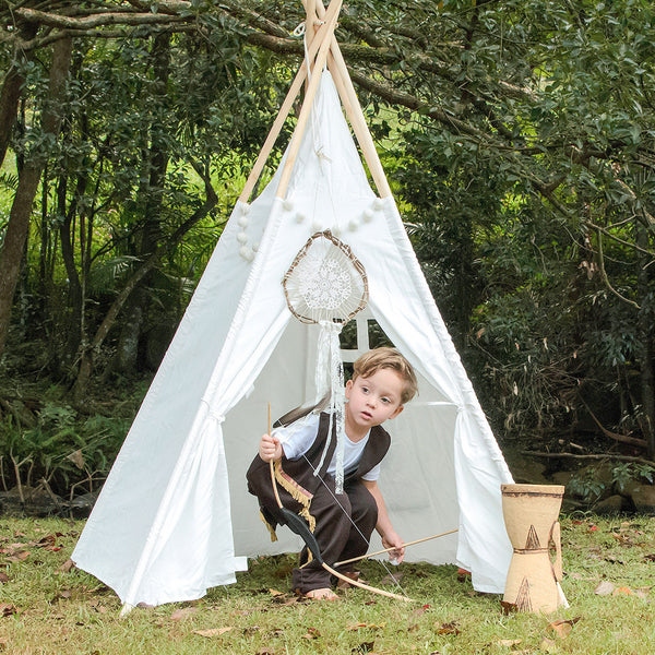 Teepee Regular Size Used In Imaginative Play - Cowboys & Indians