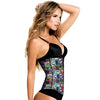 Hero & Animal Print Classic Waist Trainer with High Compression by TrueShapers®