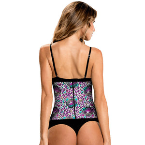 Hero & Animal Print Classic High Compression Colombian Waist Trainer by TrueShapers - Shapersfit.com