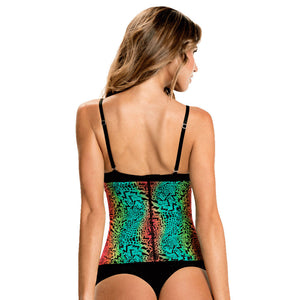 Colorful Animal Print Classic High Compression Colombian Waist Trainer by TrueShapers - Shapersfit.com