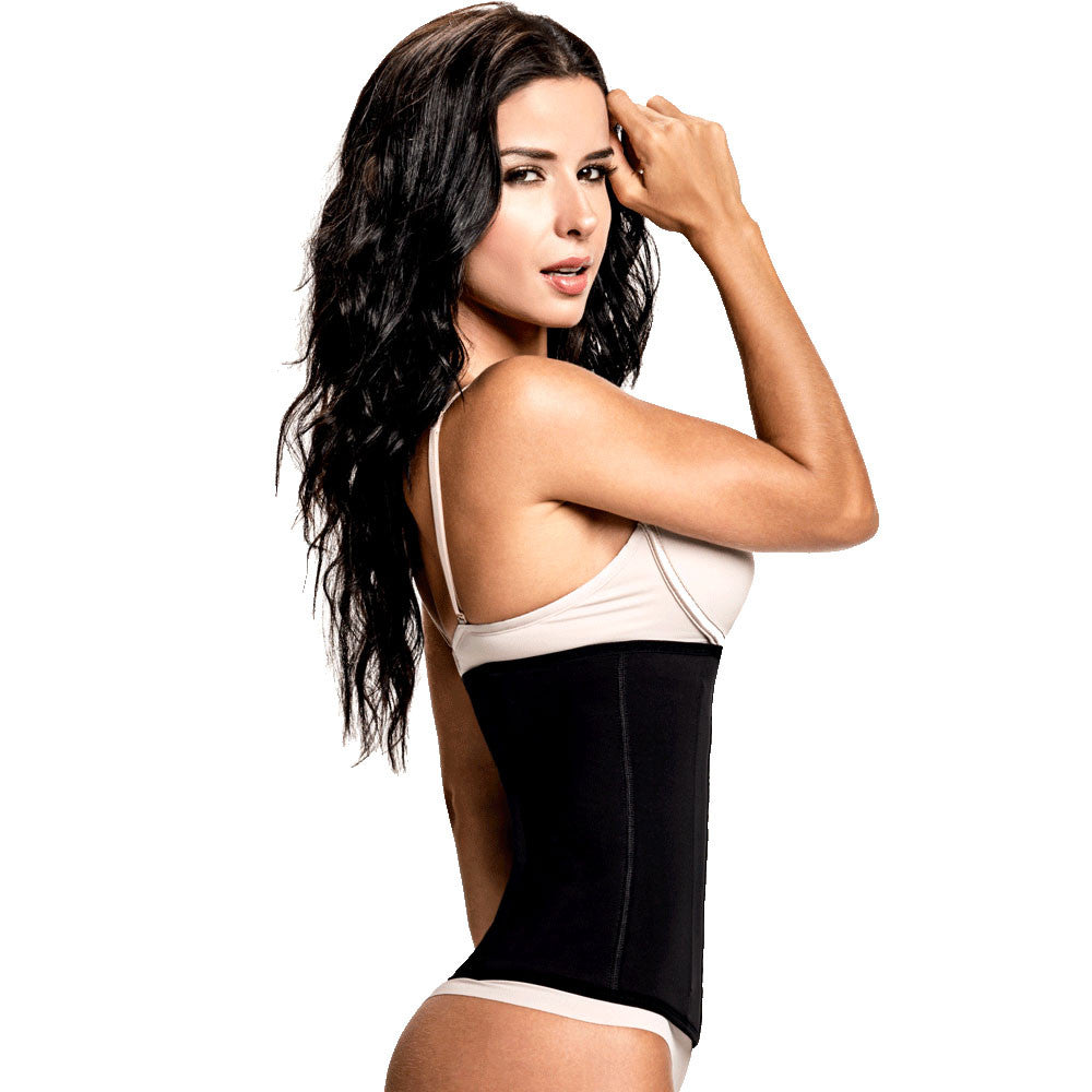 Non Latex Waist Trainer by TrueShapers with High Compression - Shapersfit.com