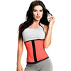 Blue / Coral Workout Waist Trainer with High Compression by TrueShapers®