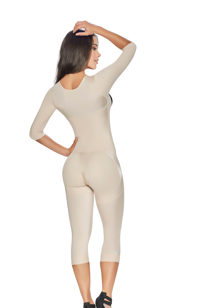 Post Surgical Body Shaper with Arm Compression