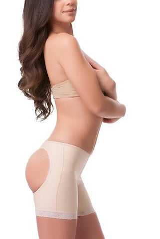 Low Waist Buttocks Enhancing Compression Garment Panty Length | BE01