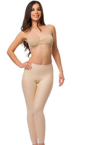 Low Waist Abdominal Compression Garment | Ankle Length