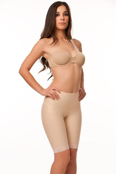 Low Waist Abdominal Compression Garment | Above Knee length