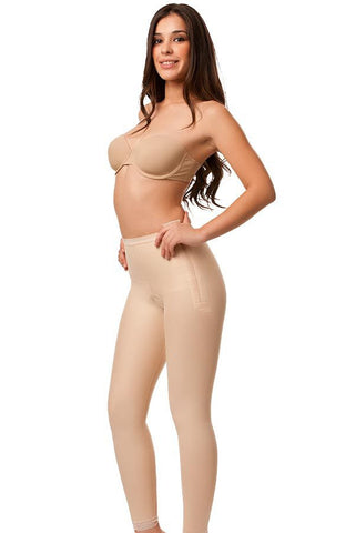 Low Waist Abdominal Compression Garment | Ankle Length with Zippers