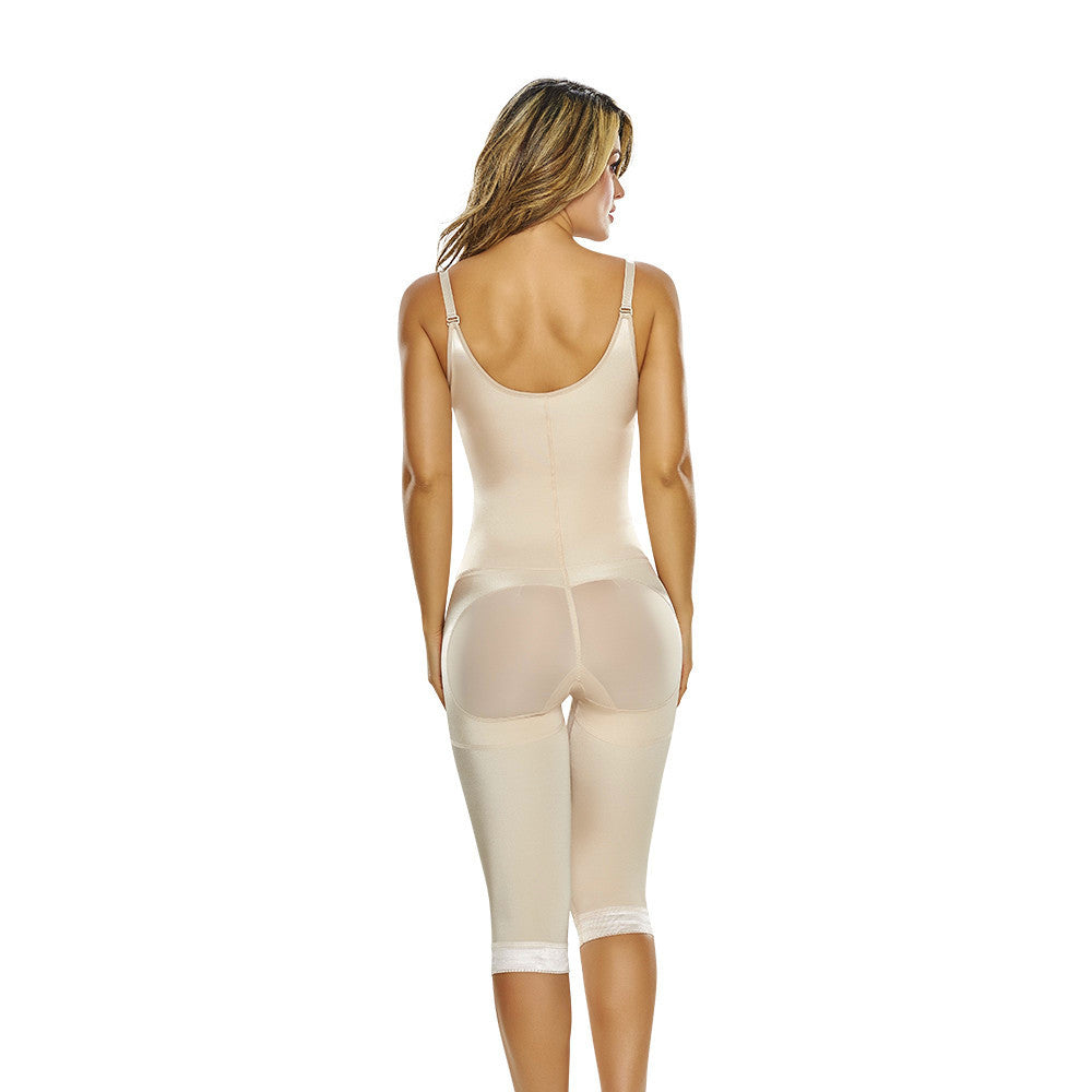 Butt Lifter Body Shaper with Open Bust and Front Zipper Closure by TrueShapers®
