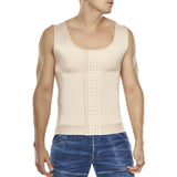 Men's Compression Vest Body Shaper with Hook & Eye Closure by TrueShapers®