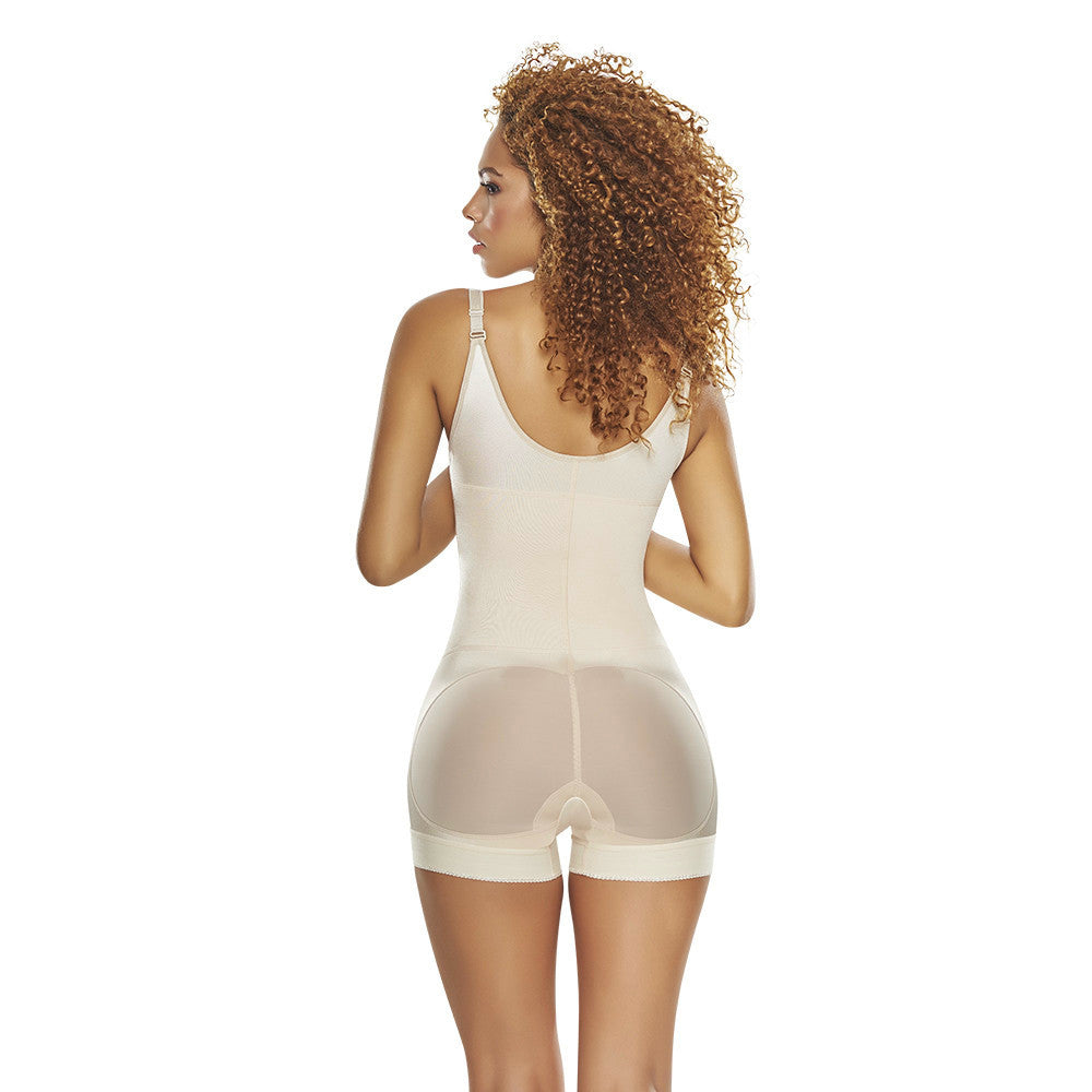Butt Lifter Body Shaper in Boy Shorts with Front Zipper by TrueShapers®
