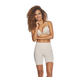 Seamless Mid-Thigh Slimmer Shorts by TrueShapers®