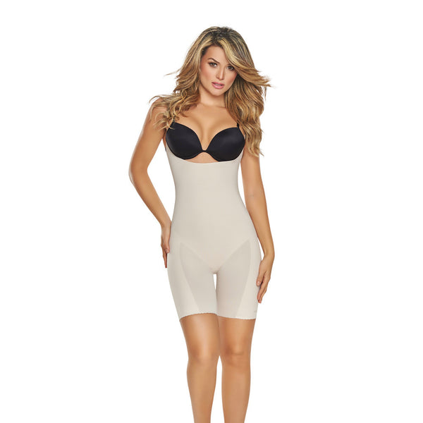 Seamless Underbust Open Bodysuit by TrueShapers®