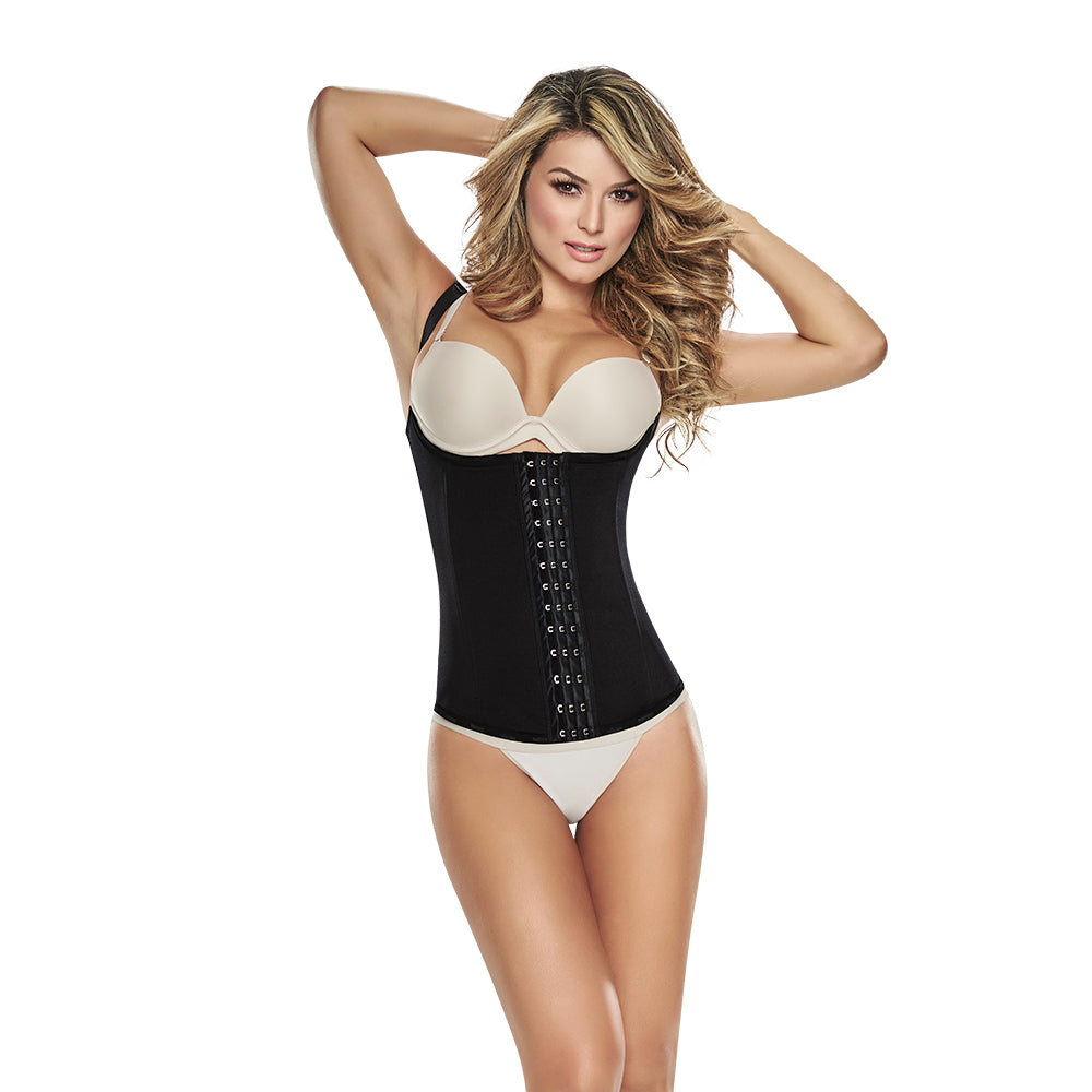 Slimming vest with front hook closure