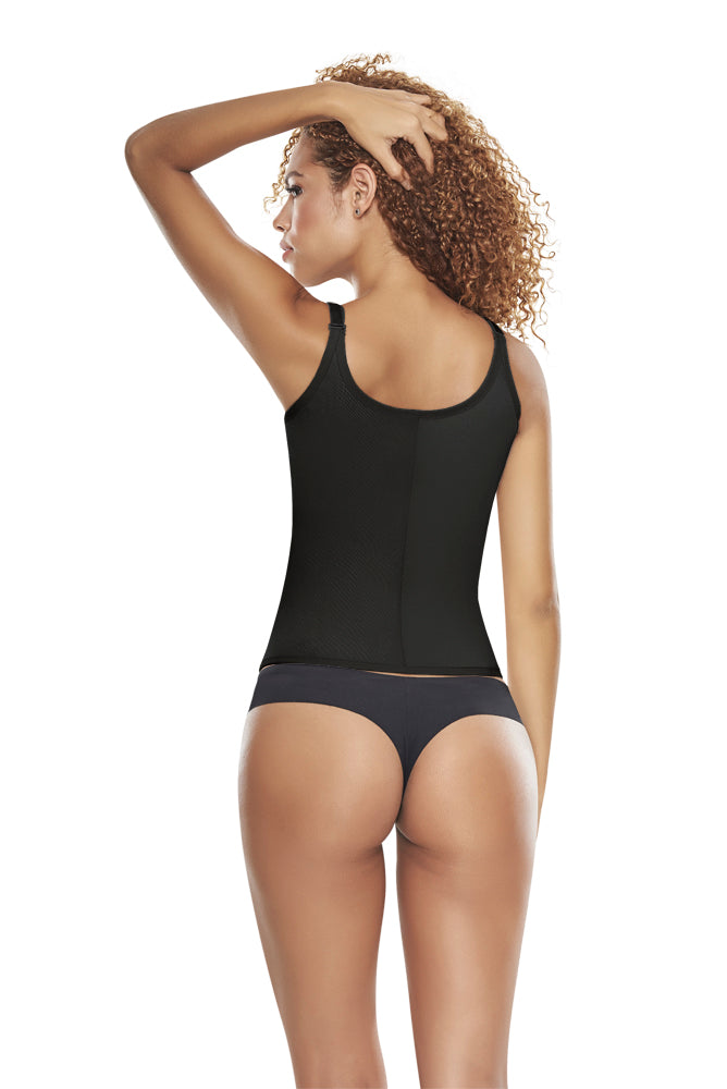 Waist Trainer Vest with front hook closure