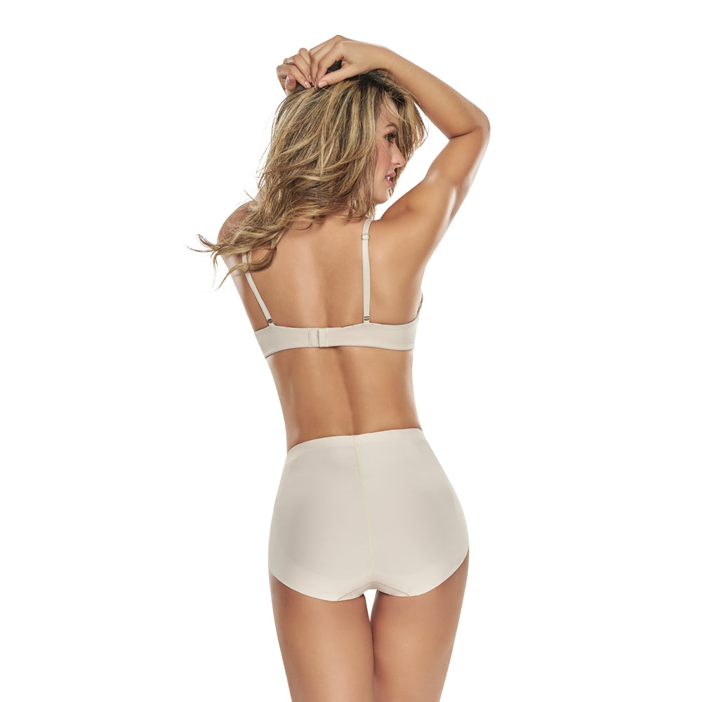 Mid Waist Panty With Butt Lift Control