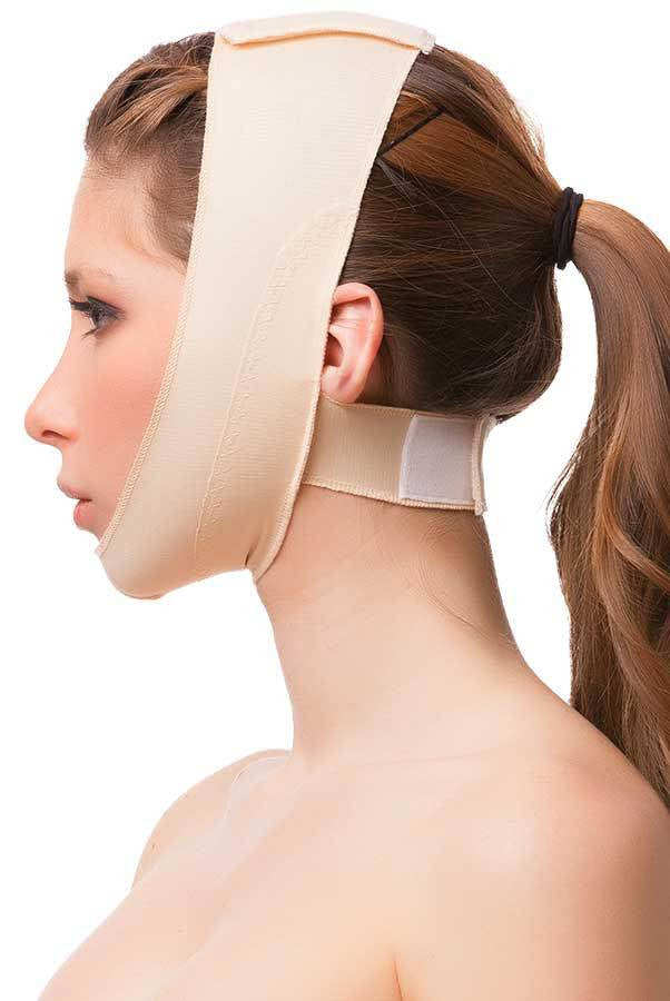 Post Facial Surgery Chin Strap Compression Garment w Med