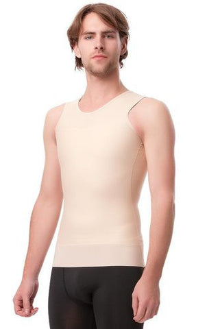 2nd Stage Mens Abdominal Compression Vest Post Surgical Garment with 3 inches Elastic Waist Band | MG05
