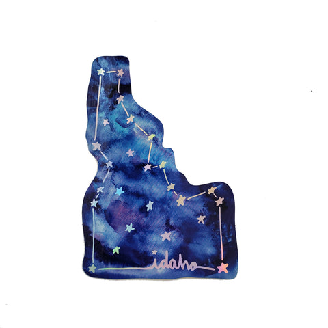 Idaho constellation sticker