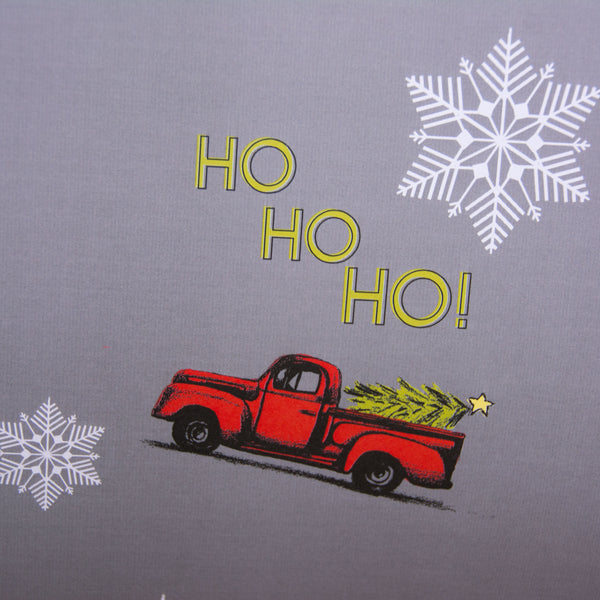 Ho Ho Ho Vintage Truck Wrapping paper, 20x29 inches
