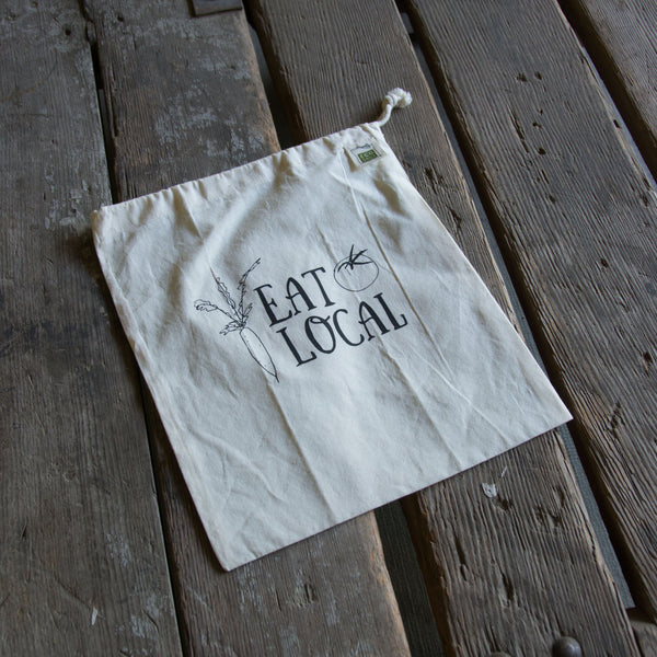 Eat Local Produce Bag, medium bulk and produce bag