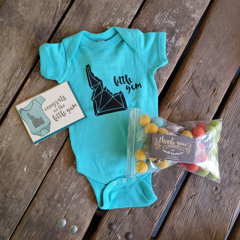 New Baby Gift Box, local gifts Handmade Idaho