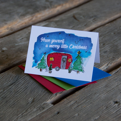 Have yourself a merry little Christmas, letterpress printed, eco friendly