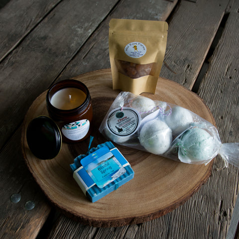 Idaho Spa Box, local gifts Handmade Idaho
