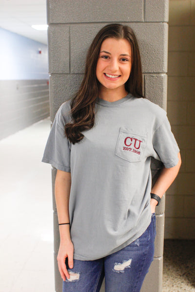 Campbellsville Est. Comfort Color Pocket Tee