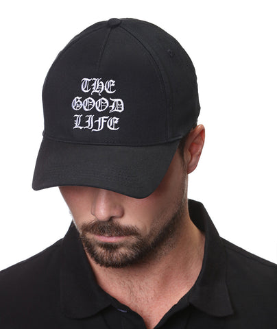 "Black ""The Good Life"" Cap"