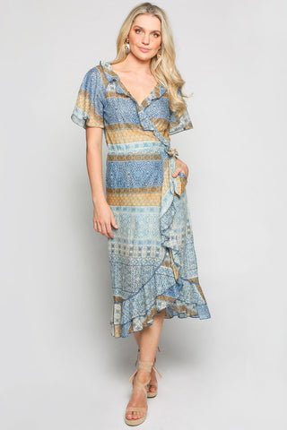 Mischa Wrap Dress