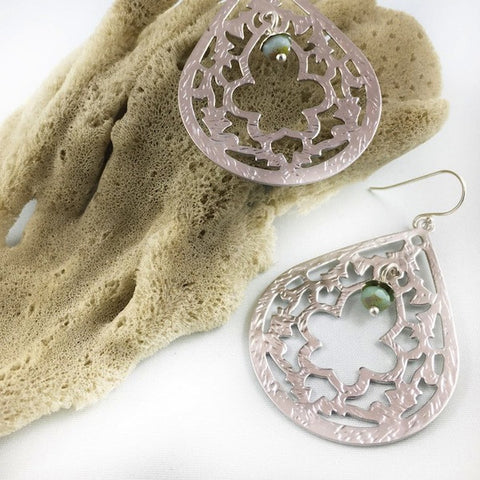 Moroccan Keyhole Earrings