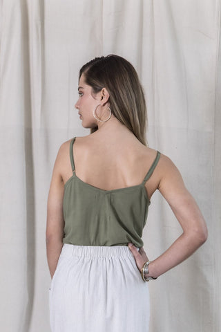 First Light Top - Khaki