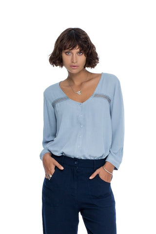 Follow Your Bliss Blouse - Lavender