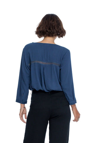 Follow your Bliss Blouse - Navy