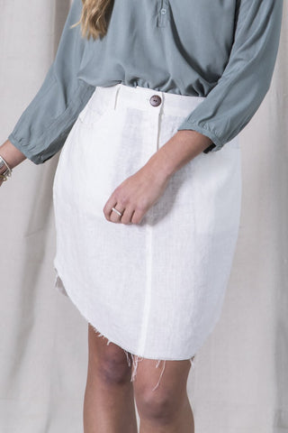 Native Skirt - Ivory