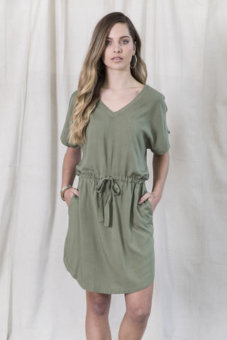 Weekend Dress - Khaki