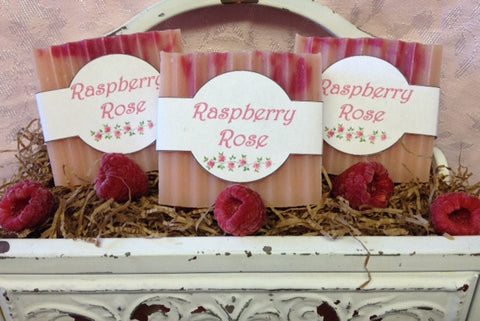 Raspberry Rose Soap