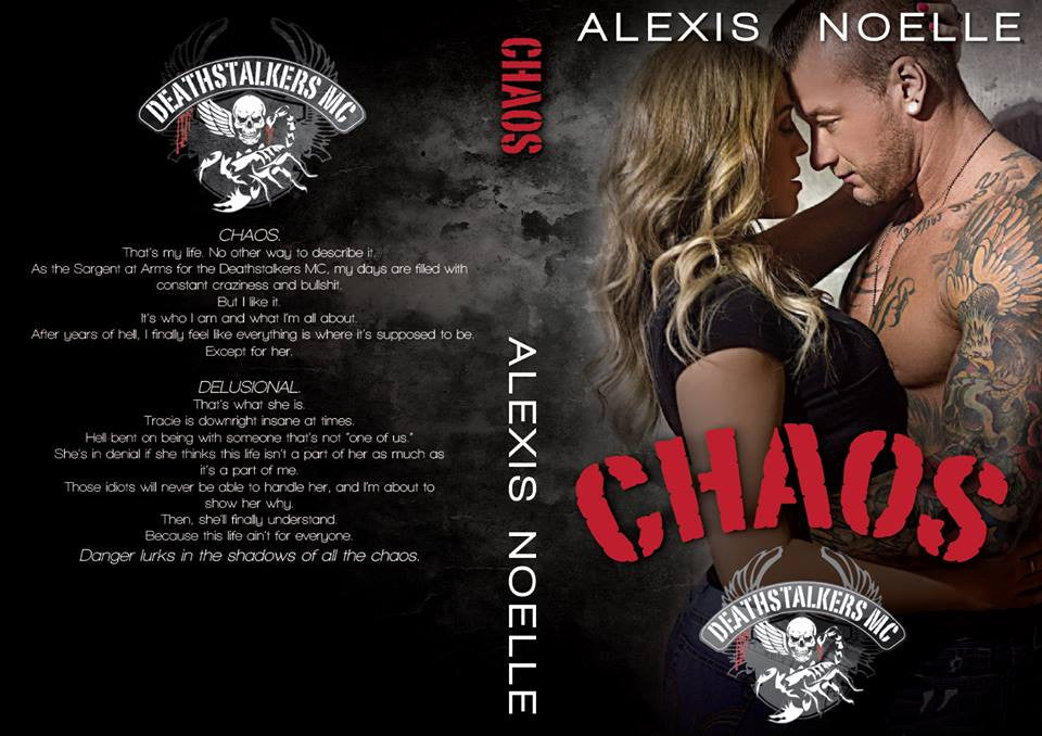 Cover Reveal for Alexis Noelle's, Chaos