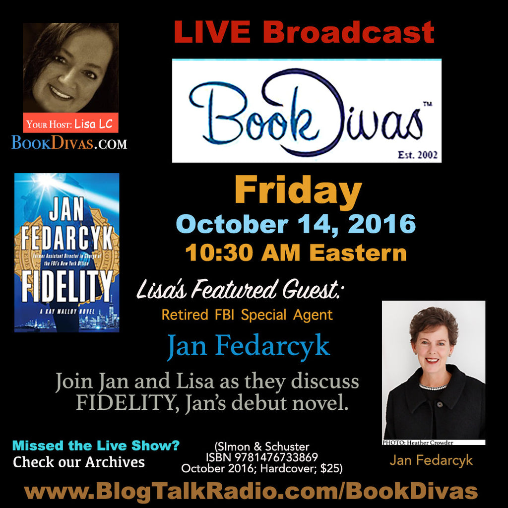 Book Divas Live Broadcast with Jan Fedarcyk