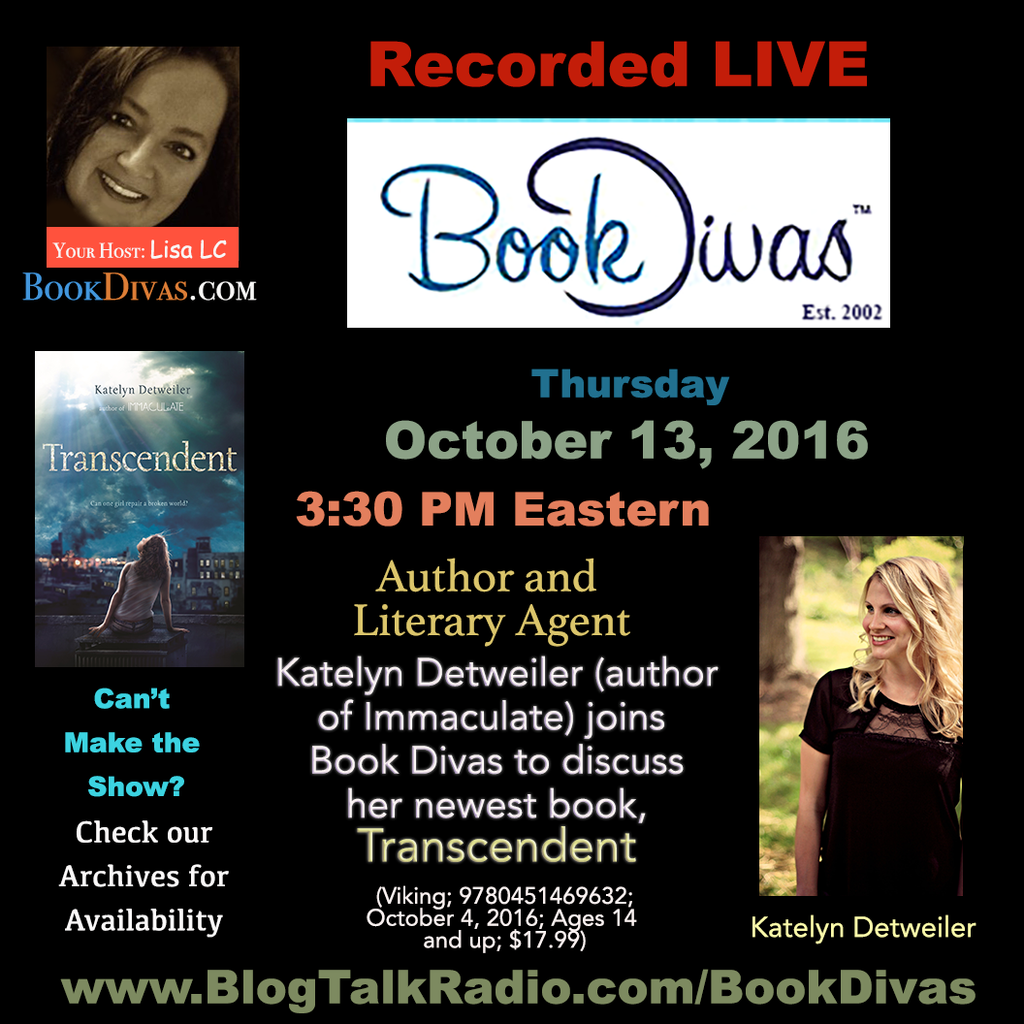Book Divas Live Broadcast with Katelyn Detweiler
