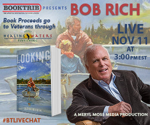 LIVE today at 3 PM ET with Bob Rich, author of Looking Through Water
